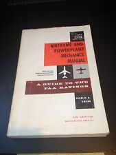 Airframe And Powerplant Mechanic Manual  1966