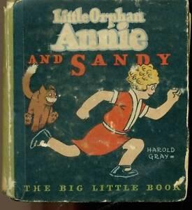 LITTLE ORPHAN ANNIE & SANDY (1933) Whitman BLB 320pgs ~