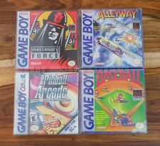 Mercenary Force, Alleyway, Baseball, PINBALL ARCADE Gameboy Color COMPLETE NEW