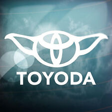 Toyoda Funny Car Window Truck Auto Laptop Wall Home Vinyl Sticker Decor Gift