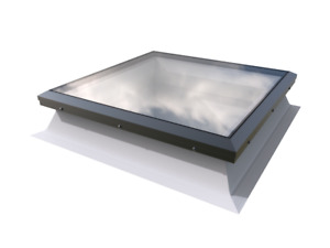Mardome Flat Glass Rooflight - Fixed Double Glazed Window For Flat Roof