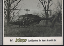 (192) Brochure hélicoptère Aircraft Helicopter Bell's Jet Ranger