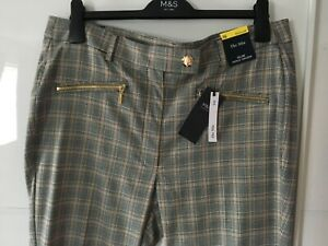 Marks and Spencer Women The Mia Slim Ankle Crazer Size 16