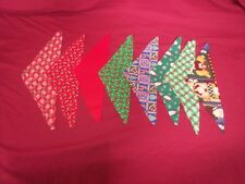 CHRISTMAS---DOG BANDANA---Groomer Supply---Assorted Colors--Med Dog Sz---12pcs