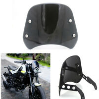 Smoke Headlight Windshield Fairing Windscreen Deflector For Benelli Leoncino 250