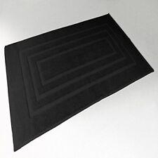 Douceur D'intérieur Vitamine Tapis de bain 1000 G coton Uni Noir 50 x 85 cm