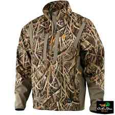 BROWNING DIRTY BIRD SOFT SHELL PULLOVER JACKET COAT SHADOW GRASS BLADES CAMO MD