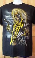 """IRON MAIDEN T-Shirt  """"Killers/Front and Back"""" Official/Licensed  S, M   NEW"""