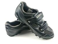 Shimano Mens Cycling Shoes Black SH MO65L Size 43