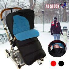 Baby Pram Stroller Pushchair Footmuff Sleeping Bag Cosy Cot Bed Car Seat JH