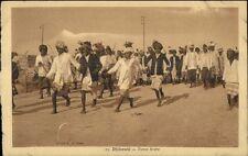 Djibouti East Africa c1910 Postcard ARAB DANCE ETHNOGRAPHY