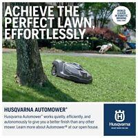 2019 Model 315 HUSQVARNA AUTOMOWER FREE  0% INTEREST AVAILABLE