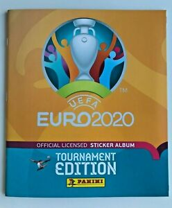 Panini EURO EM 2020 Tournament Edition - Sammelalbum Softcover - Leer Album