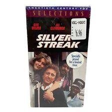 ( New) Silver Streak (VHS, 1995) Gene Wilder, Jill Clayburgh, and Richard Pryor