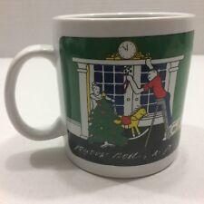 joyous unique coffee mug. Taylor  Ng Coffee Tea Mug Cup Joyous Noel Jolly New Year To All A Good TAYLOR NG Collectible Mugs Cups eBay