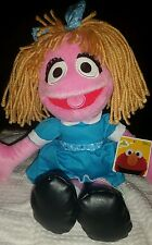 """14"""" New Prairie Dawn Sesame Street Plush Girl Doll Sesame Place NWT"""