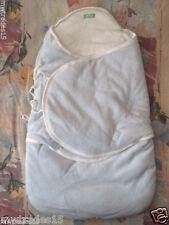 Christmas Gift-NEW 100% Organic Sleep Sack Keep Baby Warm and Cozy (Baby Blue)