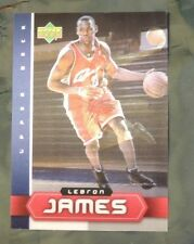 2003 Upper Deck City Holographic LeBron James Rookie Card