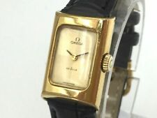 OMEGA Watch DE VILLE Rectangular   Hand Winding 18K Gold Plated    T1998