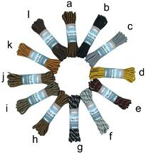Shoe Laces 140cm Long Various Colours For Hiking and Work Boots