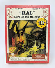 Ral Partha - RAL, Lord of the Balrogs - Complete In Box - 10-412 Lead Miniature
