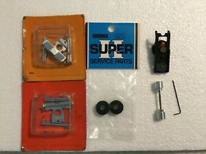 Aurora AFX Super II Parts Lot, including TOP PLATE, some NOS, FREE SHIPPING