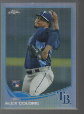 ALEX COLOME 2013 TOPPS CHROME REFRACTOR ROOKIE CARD #63