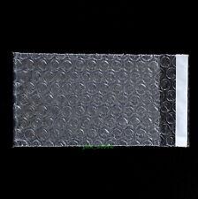 "105 PCS Self Seal Clear Bubble Envelopes Wrap Bags 3"" x 5""_80 x 130+20mm"