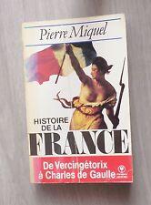 Histoire de la france de Vercingétorix à charles de Gaulle