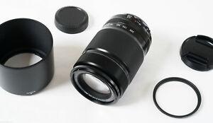 Fujifilm Fujinon XF 55-200mm F3.8-4.8 OIS R LM Lens w Heliopan Filter