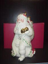 Lenox Holiday Christmas Santa Collection Cookie Jar NIB