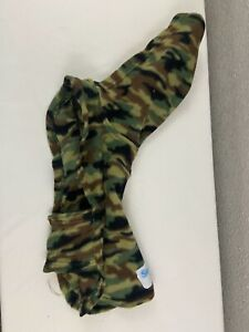 Snuggie for Dogs Camo Blanket Hooded Small Medium 14 inch chest