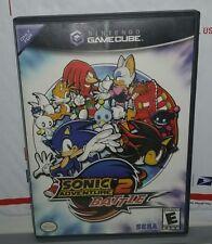 Sonic Adventure 2 Battle (Nintendo GameCube, 2002) Tested & COMPLETE