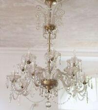 Kronleuchter Lüster Deckenlampe Deckenlüster Schloss Hotel Villa Kristalllüster