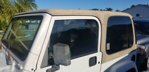 jeep wrangler tj hard top used OEM, needs paint but good condition
