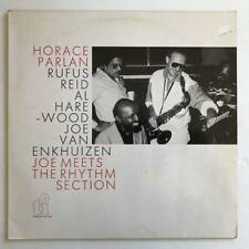 Horace Parlan Joe Meets The Rhythm Section LP VG+/VG++ Rufus Reid 1987
