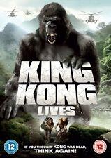 King Kong Lives (DVD) (NEW) (ADVENTURE, 1976) (REGION 2) (FREE POST)