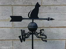 FRENCH DESIGN weather vane black   CAT  GARDEN  OUTDOOR NEW
