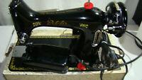 The BelAir- Sewing Machine /Model BANTAM W/ Original Case /Foot Pedal TESTED