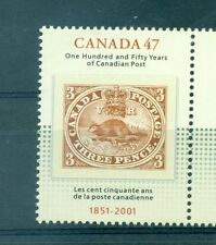 STAMP ON STAMP - CANADA 2001 150th Ann. of First Naional Stamp