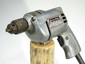 "Vintage Porter Cable 3/8"" Drill  - 141 - Works"