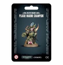 Warhammer 40k Chaos Space Marines Death Guard Plague Marine Champion NIB