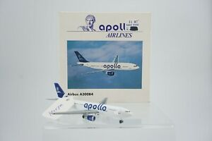 Vintage Herpa Apollo Airlines Airbus A300B4 1:500 Airplane 501880