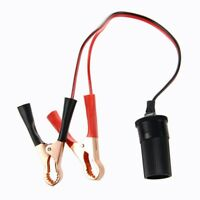 12V Cigarette Lighter Extension Cable Battery Clip with Socket P3O4
