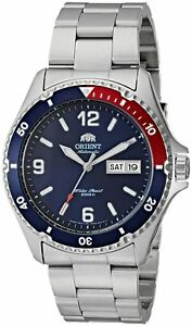 Orient Men's 'Mako II' Japanese Automatic Stainless Steel Casual Watch, Color...