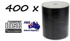 400 x DVD-R/DVDR Blank Disk/Disc PLAIN WHITE INKJET PRINTABLE SURFACE 400pcs,Pk