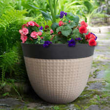 2-pack Ailani High Density Resin Planter (Select Color)