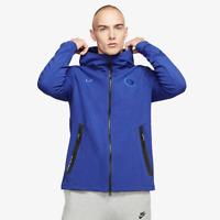 Nike Chelsea FC 2019/20 NSW Tech Pack Hoodie - Men's Large, Rush Blue CN5313 495