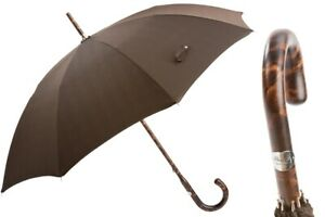 PASOTTI SOLID STICK HICKORY UMBRELLA 142 MILFORD-5 HT NEW