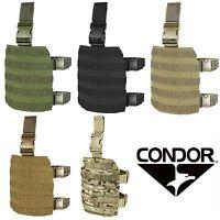 Condor MA1 Tactical MOLLE PALS Modular Webbing Quick Release Drop Leg Rig Panel